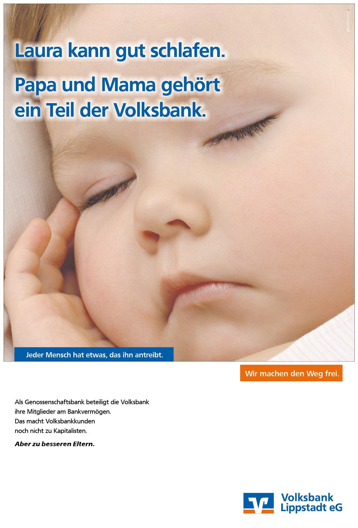 emotionale Werbung der Markenagentur für die Volksbank