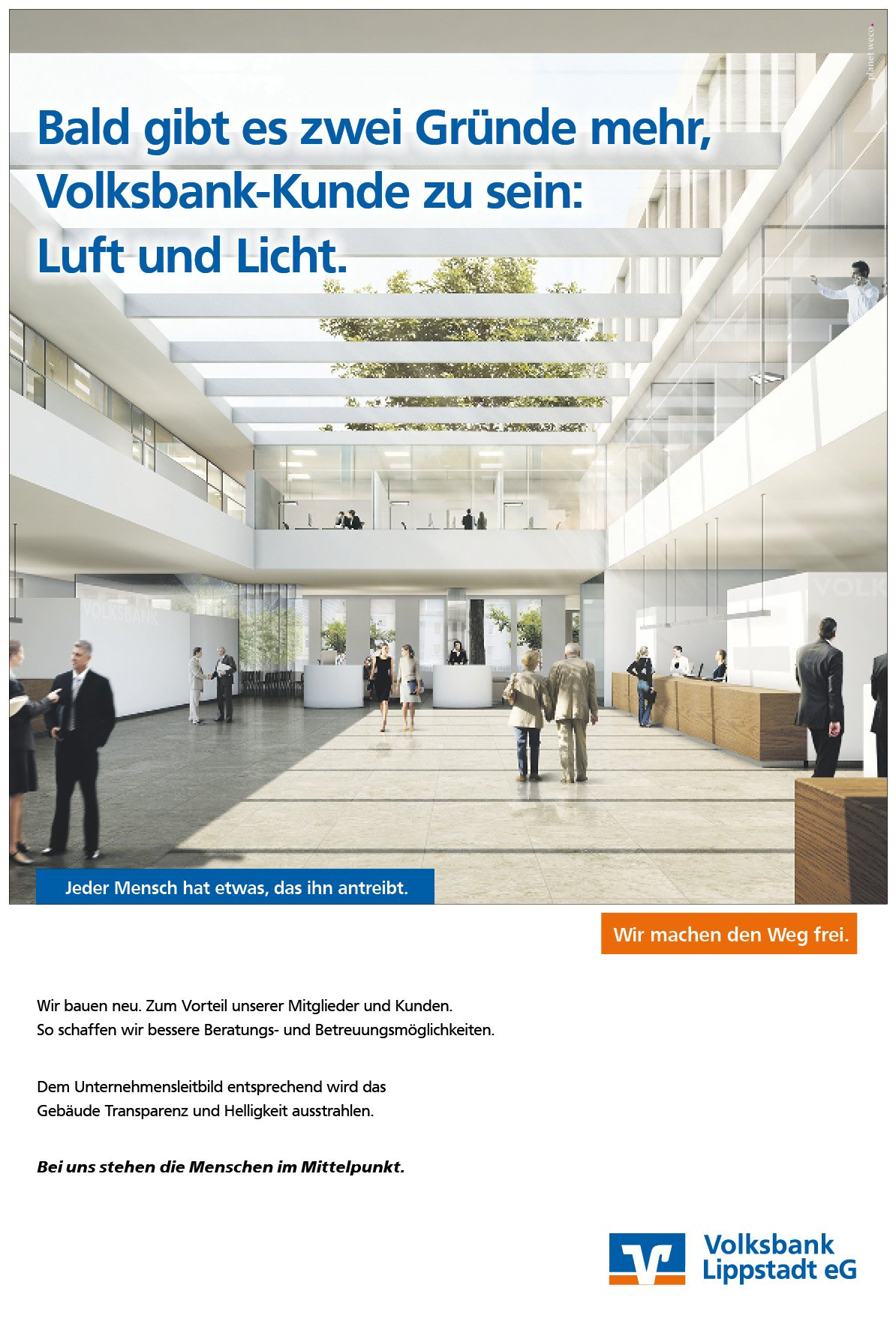 Announcement-Kampagne-Neubau-Bank