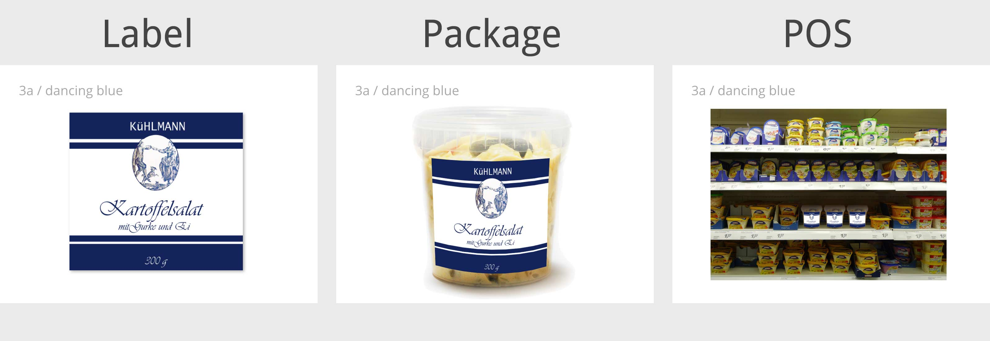 Die Markenagentur entwickelt abverkaufsstarke Verkaufsverpackungen.