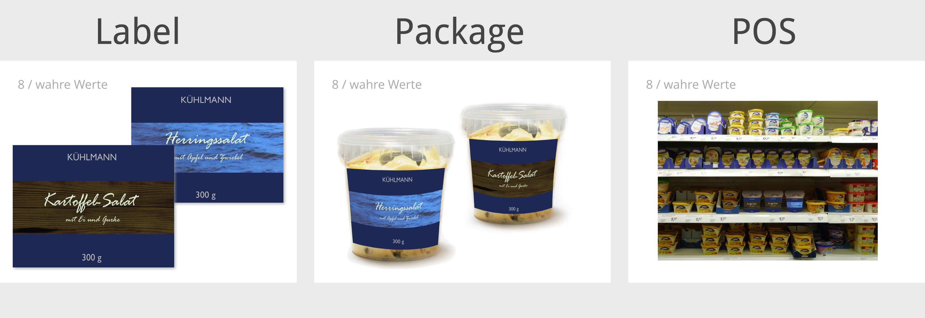Package Design optimieren