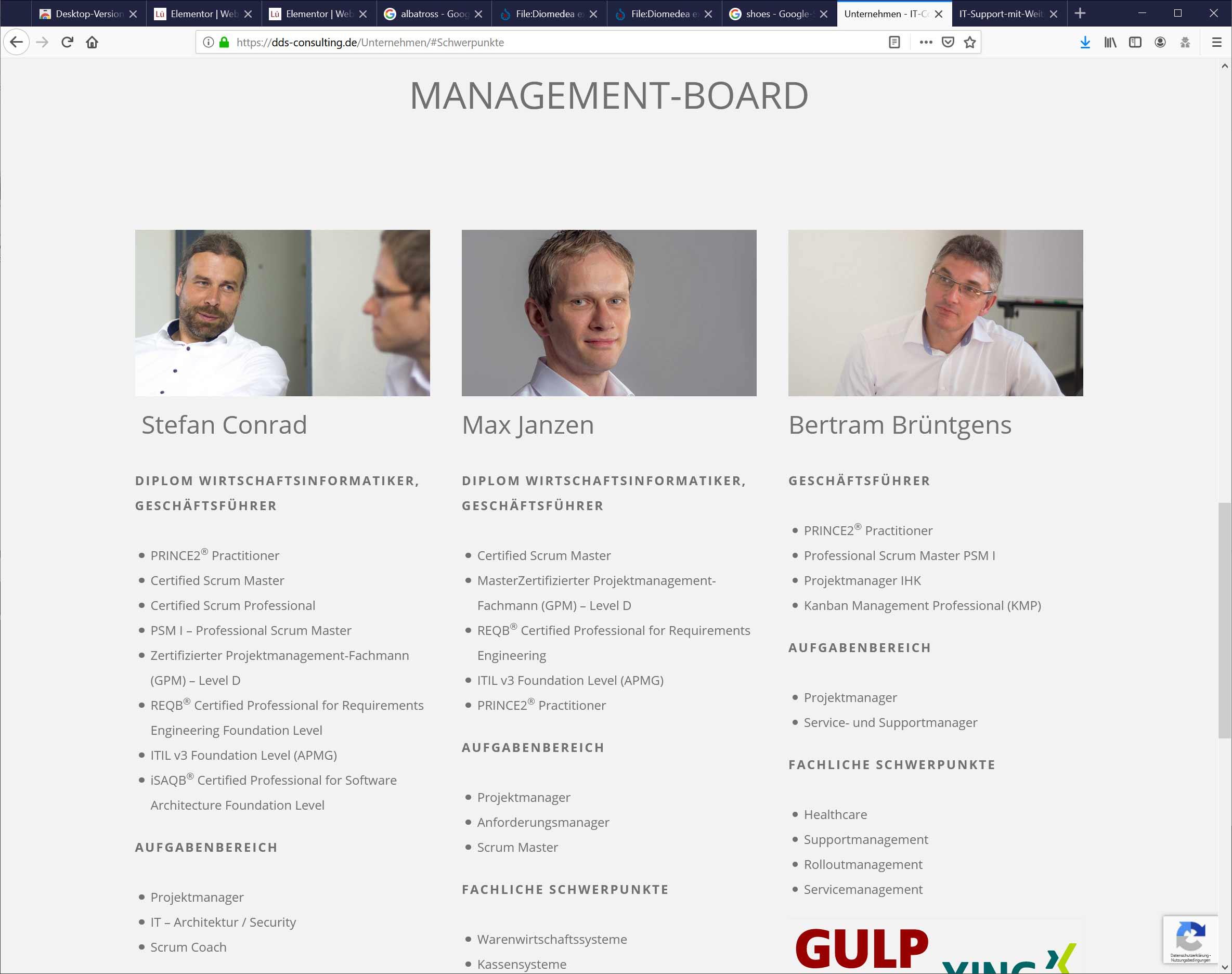Bielefeld: Marken-Website der Markenagentur