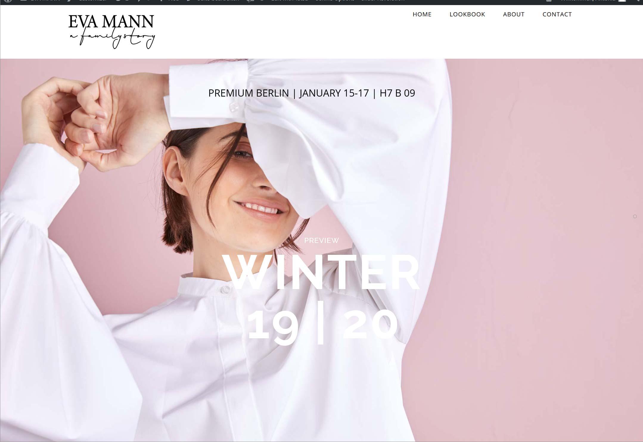 Website-Entwicklung Fashion